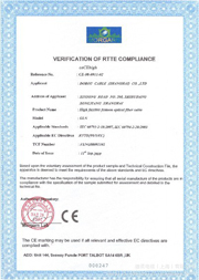 Verification of Rtte Compliance